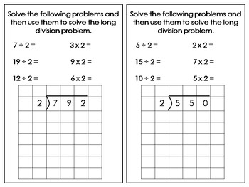 Long Division Made Easier:  CCSS 4.NBT.6