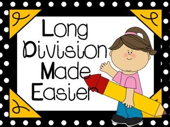 Long Division Made Easier:  CCSS 4.NBT.6