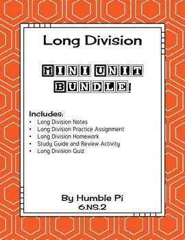 Long Division Mini Bundle-6.NS.2
