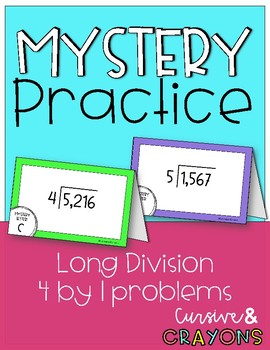 Long Division Mystery Practice