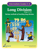 Long Division (Pages 4-14) by Teaching Ink