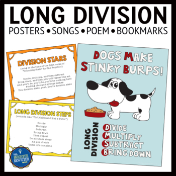 Long Division Posters and Bookmarks