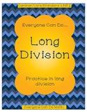 Long Division Practice: Homework or Worksheets