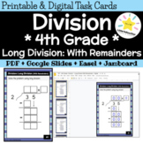Long Division Practice: 4th Grade Math Review (Dividing with Remainders)