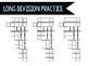 Long Division Practice Graphic Organizer