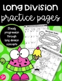 Long Division Practice Pages - Includes Engaging Riddles &