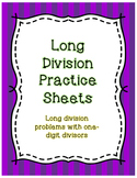 Long Division Practice Sheets