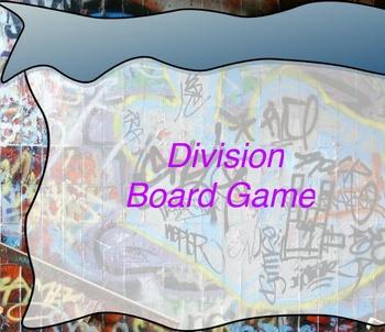 Long Division Promethean Board Game