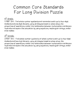 Long Division Puzzle, 2 Digit Dividend, No Remainders
