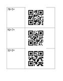 Long Division QR Code Activity