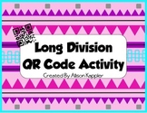 Long Division QR Code Self Checking Activity