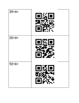 Long Division QR Codes Full Product