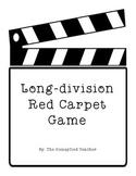 Long Division Red Carpet Game