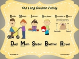 Long Division Reference Poster/Anchor Chart