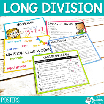 Long Division Resources
