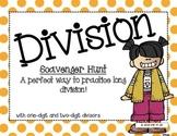Long Division Scavenger Hunt