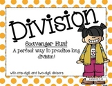 Long Division Scavenger Hunt