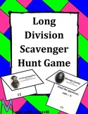 Long Division Scavenger Hunt Game