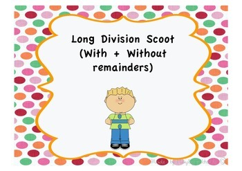 Long Division Scoot