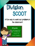 Long Division Scoot Game