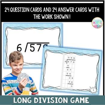 Long Division Showdown Game