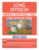 Long Division | FREE Poster, Worksheet, & Fun Video | 4th-5th Grade