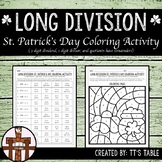 Long Division St. Patrick's Day Coloring Activity (2)