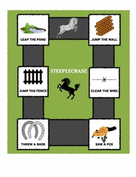 Long Division Steeplechase! A fun, horse-themed partner game for 3rd - 6th grade