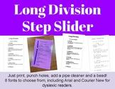 Long Division Step Slider