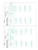 Long Division Step by Step Practice & Homework