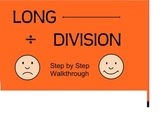 Long Division Step by Step Smart Board Walk Through