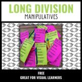 Long Division Step Manipulatives