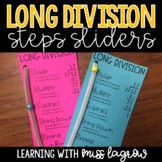 Long Division Steps Sliders Aid Manipulative - Editable