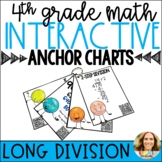 Long Division Strategies Interactive Anchor Charts with QR Codes