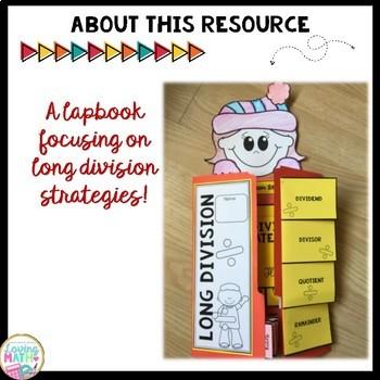 Long Division Strategies Lapbook