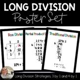 Long Division Strategies Posters