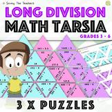 Long Division Tarsia Puzzle Activity