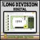 Long Division Task Card Set #3 - w/ unique answer code - 4/5.NBT.B.6