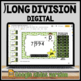 Long Division Task Card Set #3 - w/ unique answer code - 4/5.NBT.B.6