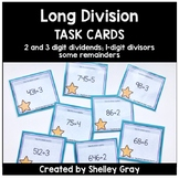 Long Division Task Cards: 2 and 3-digit by 1-digit, some r