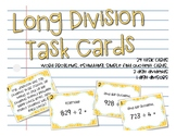 SOL 4.4c Long Division Task Cards