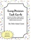 Long Division Task Cards (4.NBT.6 & 6.NS.2)