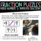 Mixed Number and Improper Fraction Puzzles 2