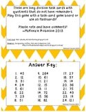 Long Division Task Cards *No Remainders