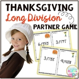 Long Division Game - Thanksgiving Themed Game