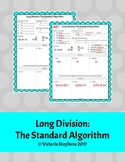 Long Division: The Standard Algorithm