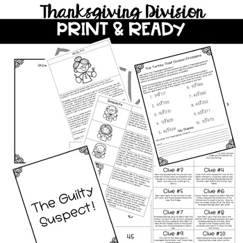 Long Division- The Thanksgiving Mystery