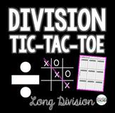 Long Division Tic-Tac-Toe! {FREE}