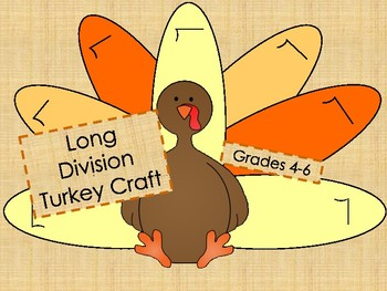 Long Division Turkey Craft