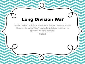 Long Division War